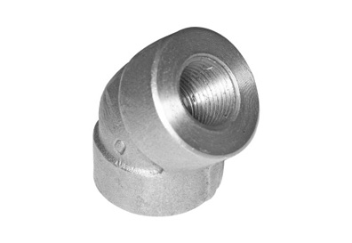 ASME B16.11 / BS3799 45° Threaded Elbow Manufacturer & Exporter