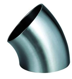ANSI/ASME B16.9 45° Long Radius Elbow Manufacturer & Exporter